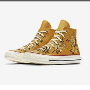 Parkway Floral High Top Yellow
